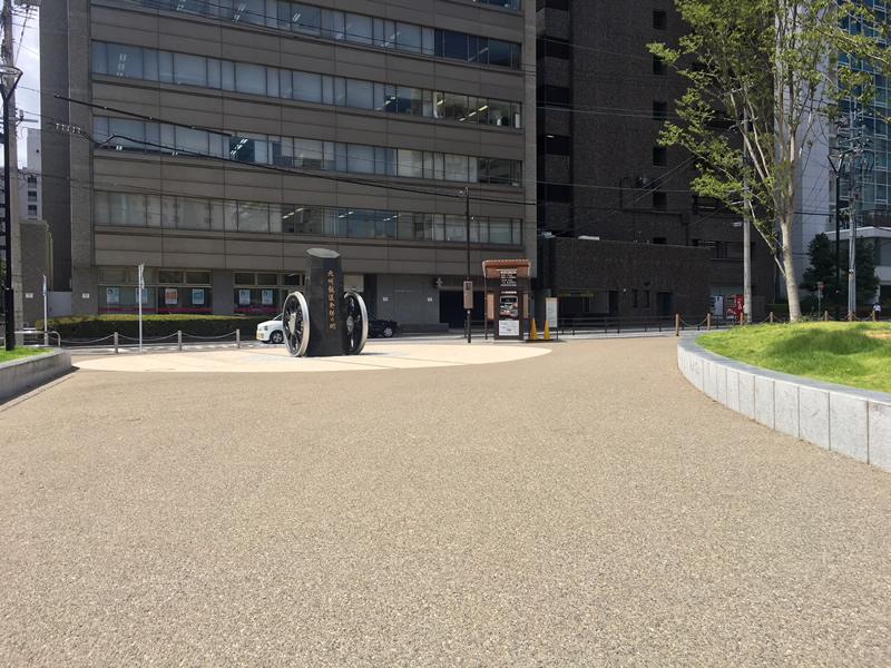 大分市昭和通り歩道
