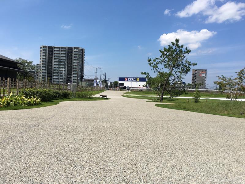 大友氏館跡庭園