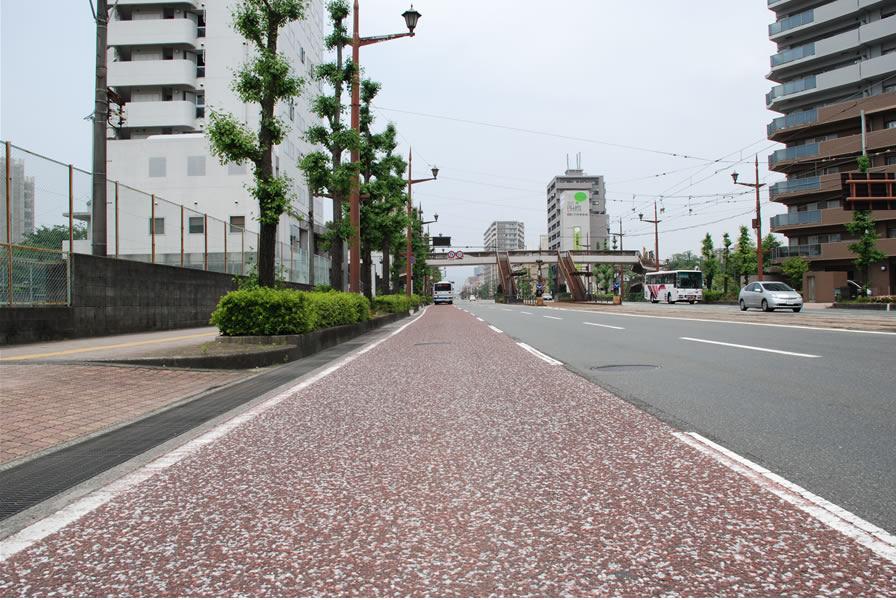 熊本市バス専用レーン