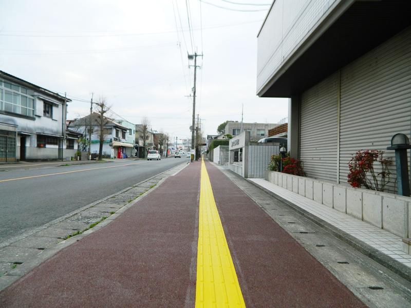 田川市川端町歩道整備