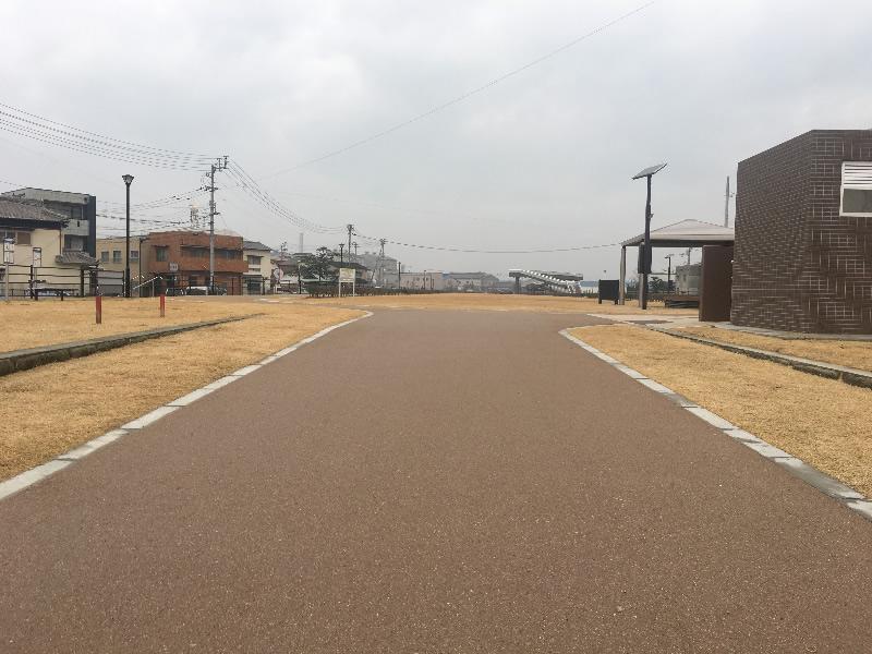 丸亀市東汐入川緑道